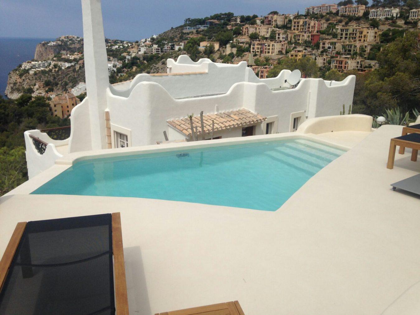 Mayrata pavimentos de exterior en Mallorca - MICROCEMENTO DE EXTERIOR
