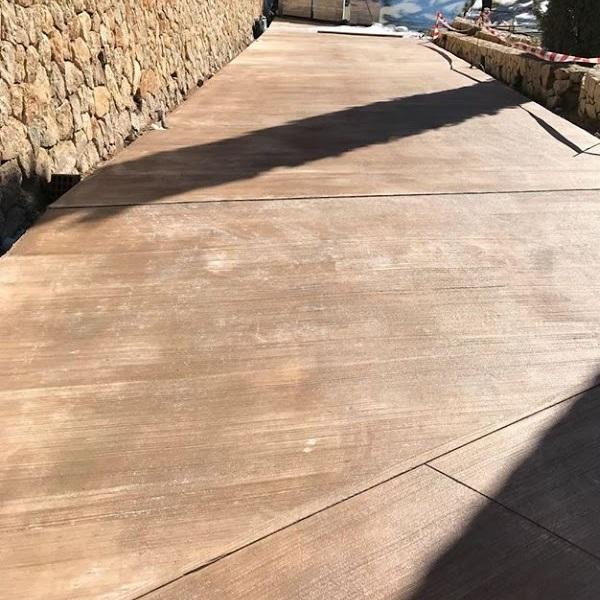 MAYRATA   Pavimentos impresos en Mallorca   Cepillado rallado