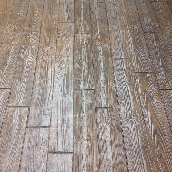 MAYRATA | Pavimentos impresos en Mallorca | Estampado madera lama estrecha