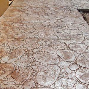 MAYRATA | Pavimentos impresos en Mallorca | Estampado piedra de río